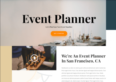 149 Event planner