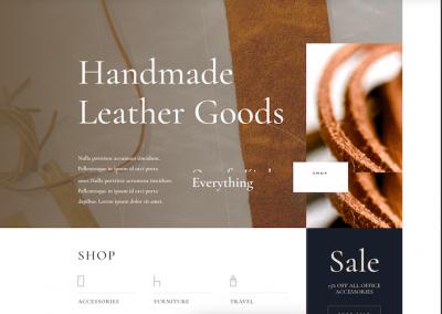 157  Leather / Artykuły skórzane