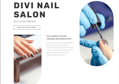 161 Nail Salon/ Salon kosmetyczny paznokcie